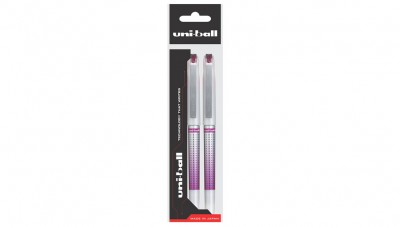 Uniball Eye Needle - UB 187S Wine Red (1+1)